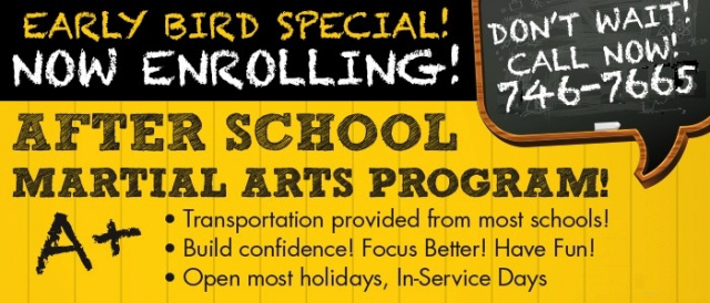 After School Martial Arts Program in Palmer, AK